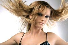 włosy powietrza Zdjęcie Royalty Free