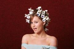 włosy rolki (rolek) Fotografia Royalty Free