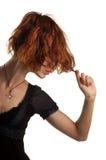 włosy silny zdrowy Zdjęcie Royalty Free