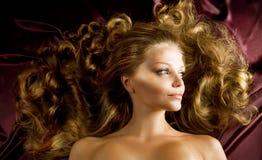 włosy zdrowy Zdjęcia Royalty Free