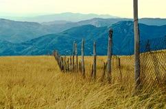 Włoszczyzn krajobrazowe góry Zdjęcie Stock