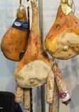 Włoszczyzna baleron przy sklepem w Krakowskim i Fotografia Stock