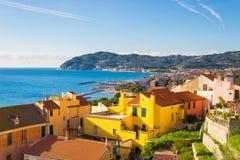 Włoszczyzna Riviera, Liguria Obrazy Stock