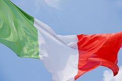 Włoszczyzny flaga obraz stock