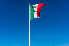 we włoszech bandery Zdjęcie Royalty Free