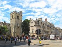 W Oxford Carfax Wierza Obraz Stock