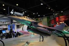 W Paris pokaz lotniczy Dassault samolot Zdjęcia Royalty Free