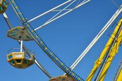 W park rozrywki Ferris stubarwny Koło Obraz Royalty Free