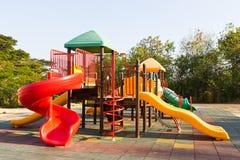 W parku dziecka boisko Obraz Stock