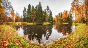 W Pavlovsk parku Obraz Royalty Free