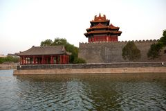 W Pekin dziejowy Zakazujący Miasto Obrazy Stock