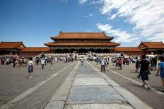 W Pekin dziejowy Zakazujący Miasto Zdjęcie Royalty Free