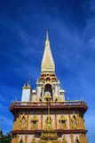 W Phuket Wat Świątynia Chalong Zdjęcia Stock