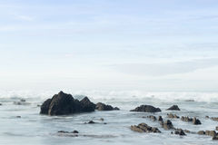 W plaży Zdjęcie Stock