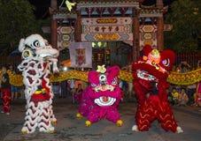 W połowie jesień festiaval w Hoi Fotografia Stock