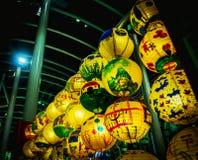 W połowie autum festiwal Singapore Zdjęcie Stock