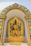 W Pokhara Pokój światowa pagoda, Nepal Fotografia Royalty Free