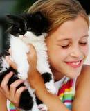 w porządku kotem Fotografia Royalty Free