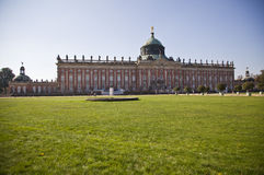W Potsdam nowy Pałac Obraz Royalty Free