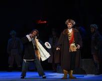"""W próbie wśliznąć Peking operę """"Taking Tygrysiego Montain Strategy† Zdjęcia Royalty Free"""
