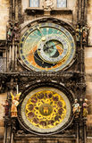 W Praga średniowieczny Astronomiczny Zegar obraz royalty free