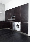 W pralce i kuchence Fotografia Royalty Free