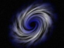 W przestrzeni kolorowy vortex zdjęcie royalty free