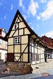 W Quedlinburg stary dom Fotografia Royalty Free