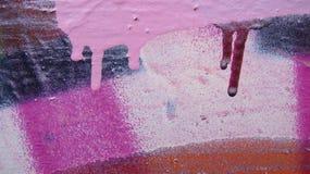 W różowych i purpurowych colours zdjęcia royalty free