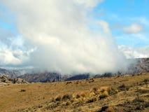 Wśród chmur i gór Obraz Royalty Free