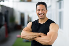 W średnim wieku bodybuilder Obraz Stock