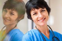 W średnim wieku opieka zdrowotna Fotografia Royalty Free
