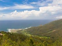W Rias Oia wybrzeże Baixas Fotografia Stock