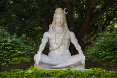 W Rishikesh Shiva statua, India Obrazy Stock