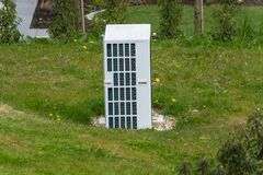 Free Wärmepumpe Kombiniert Mit Photovoltaik Royalty Free Stock Photos - 219427098