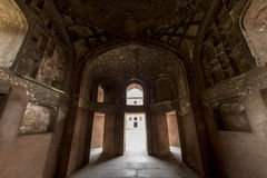 Wśrodku Agra fortu, Agra, Uttar Pradesh, India Obraz Royalty Free