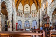 Wśrodku Andohalo katedry - Antananarivo Zdjęcie Stock