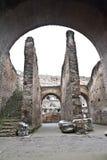 Wśrodku Colosseum. Zdjęcia Royalty Free