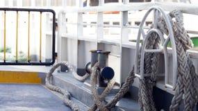 Wśrodku Ferryboat Obrazy Royalty Free
