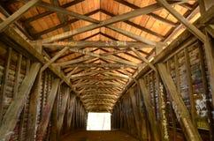 Wśrodku garbu mosta Obraz Stock