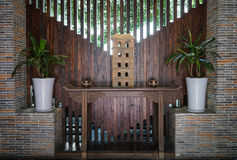 Wśrodku herbacianego domu w Chengdu, Chiny Obraz Stock