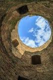 Wśrodku jeden góruje cytadela w Akkerman fortecy w Belgu Obrazy Royalty Free