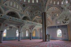 Wśrodku meczetu w Manavgat Obrazy Stock