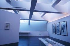 Wśrodku muzeum sztuki Zdjęcia Stock