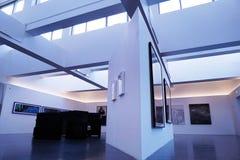 Wśrodku muzeum sztuki Fotografia Royalty Free