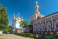 Wśrodku Novodevichy klasztoru w Moskwa Zdjęcie Stock