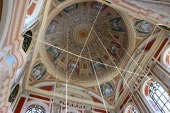 Wśrodku Ortakoy meczetu Zdjęcie Royalty Free