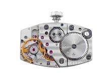 Wśrodku zegarowego (clockworks) Obrazy Royalty Free