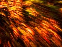 W ruchu abstrakcjonistyczni barwioni światła Zdjęcia Stock