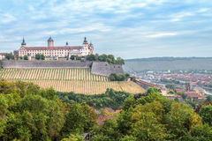 Würzburg Fortress Royalty Free Stock Photos